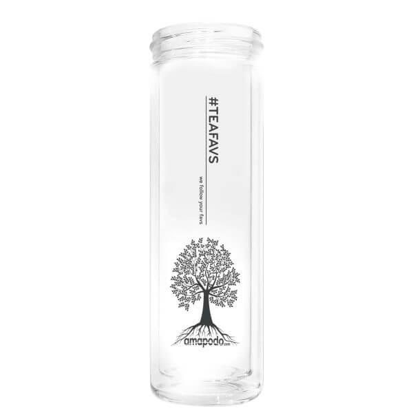 amapodo Teeflasche ohne Sieb, ohne Deckel