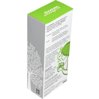 amapodo Erfrischungstee lose 120g, #teafavs N°3, Verpackung-Rückseite