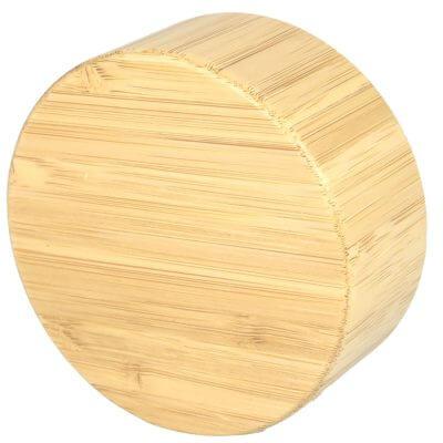 Bambus-Deckel für Trinkflasche, einzeln, Vorderseite