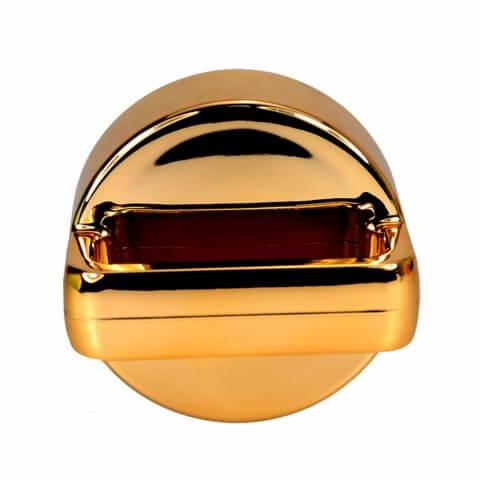 amapodo Teeflasche Deckel Farbe gold, stehend