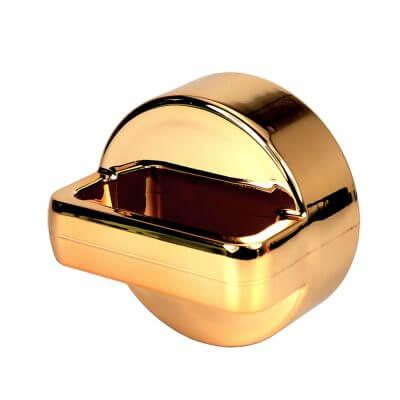amapodo Teeflasche Deckel Farbe gold, seitlich