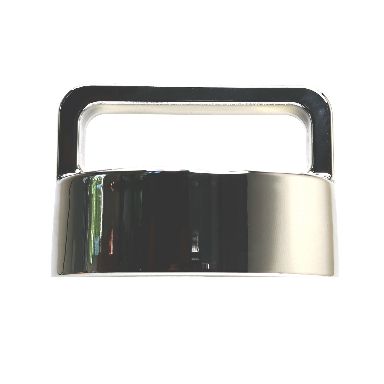 amapodo Ersatz-Deckel Verschluss silber für Trinkflasche, Glasflasche, Teekanne