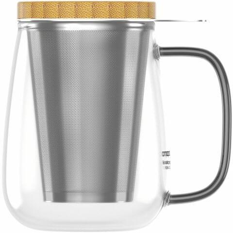 Teeglas 700ml ohne Tee