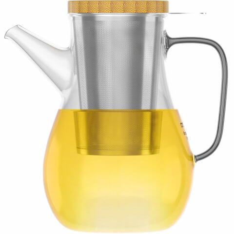 Teekanne 1100ml mit Tee