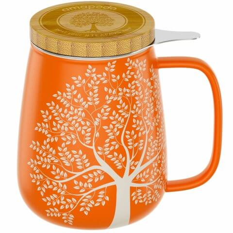 Teetasse 650ml orange