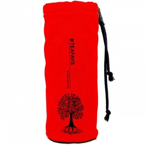 amapodo Schutzhülle für Trinkflaschen Rot