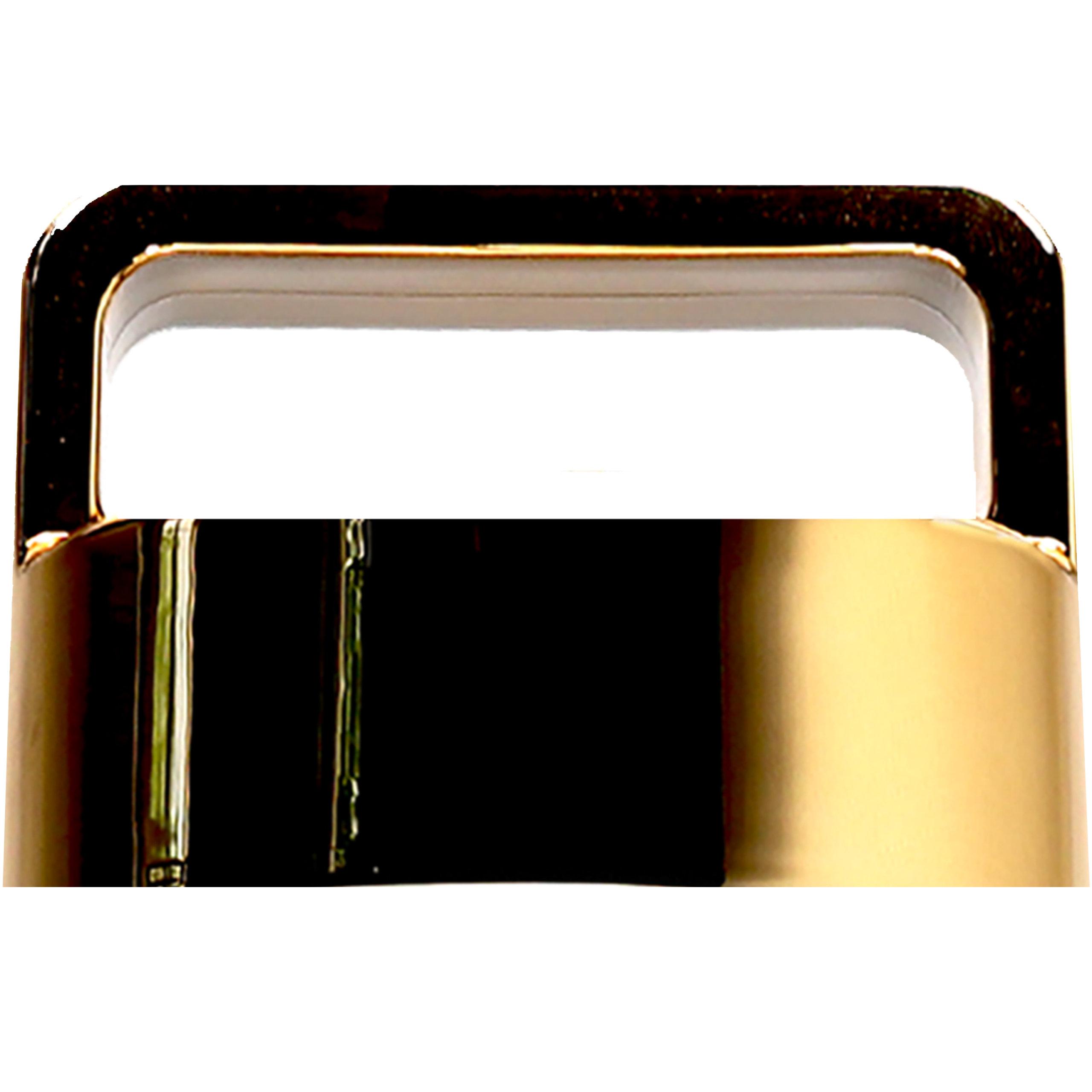 amapodo Ersatzdeckel in Gold passend für 400ml Glasflaschen - Edelstahlkern BPA-Frei