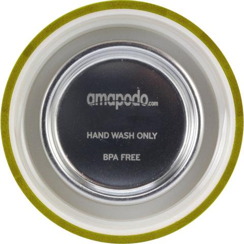 amapodo Ersatz Deckel Bambus Grün für 400ml Teeflasche innen