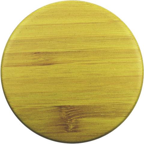 amapodo Ersatz Deckel Bambus Grün für 400ml Teeflasche vorn