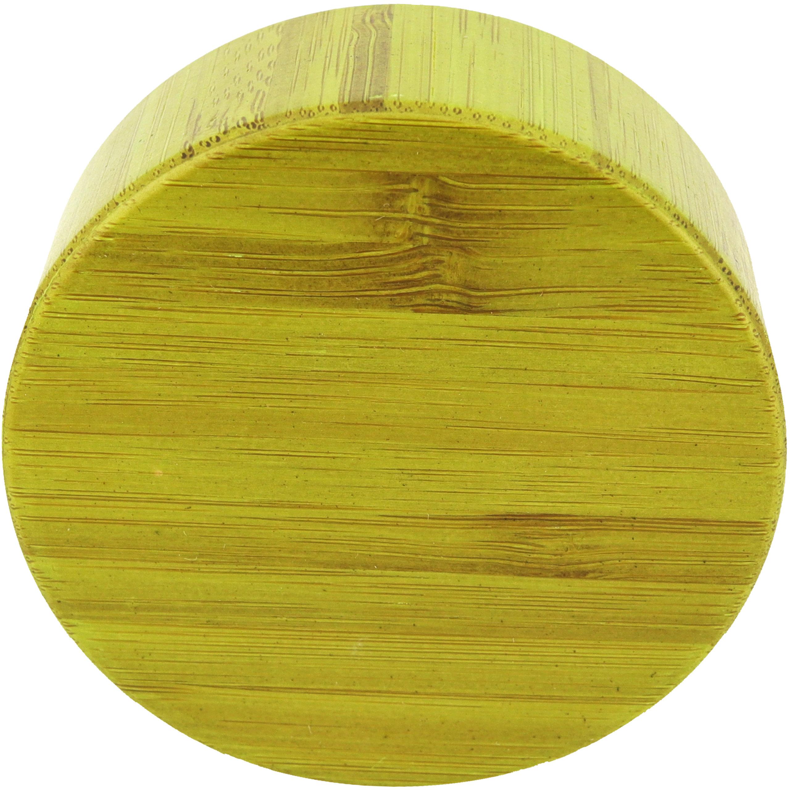 amapodo Ersatzdeckel Bambus Grün passend für 400ml Glasflaschen - Edelstahlkern mit Teesieb Ablage BPA-Frei
