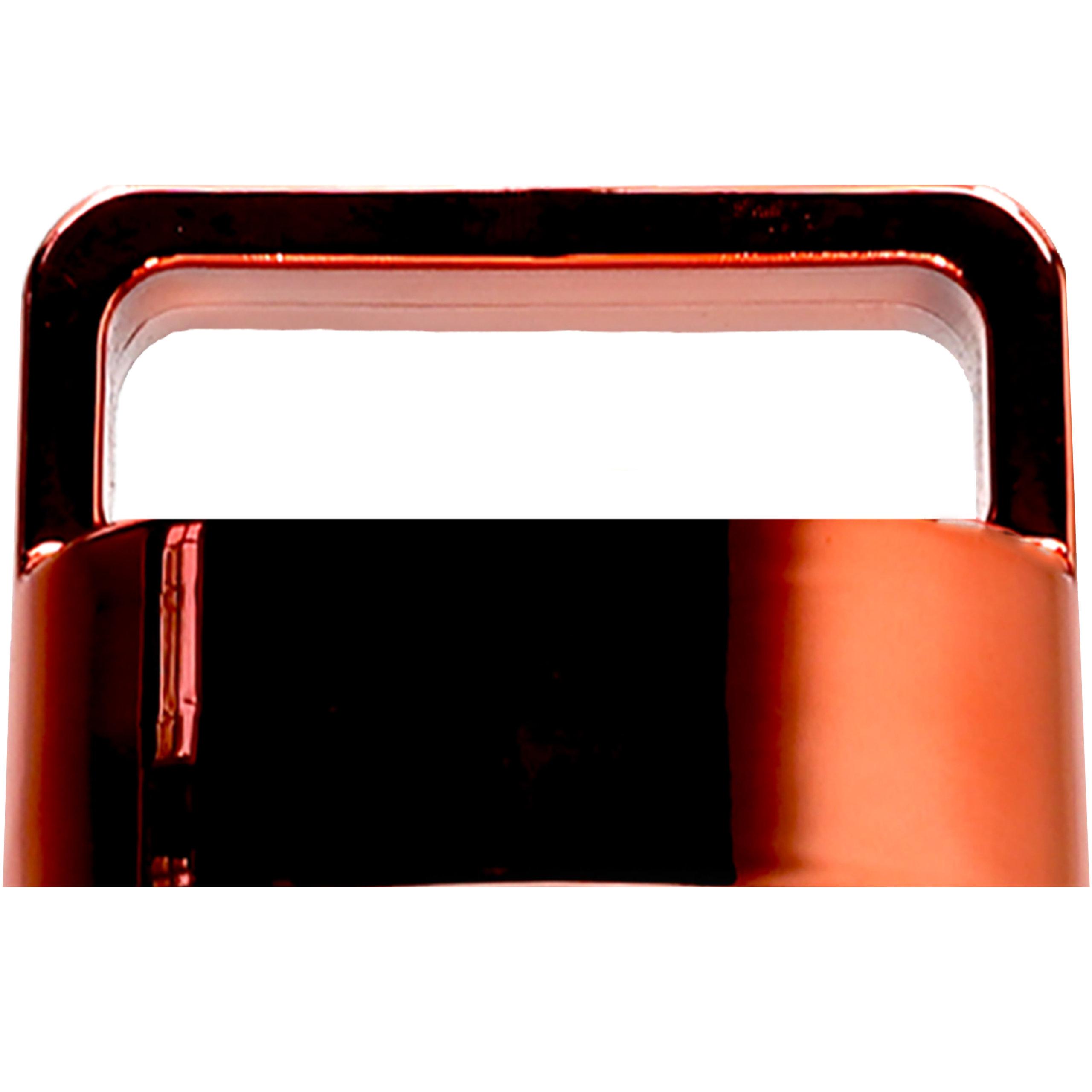 amapodo Ersatzdeckel in Rot passend für 400ml Glasflaschen - Edelstahlkern BPA-Frei