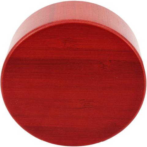 amapodo Ersatz Deckel Bambus Rot für 400ml Teeflasche oben