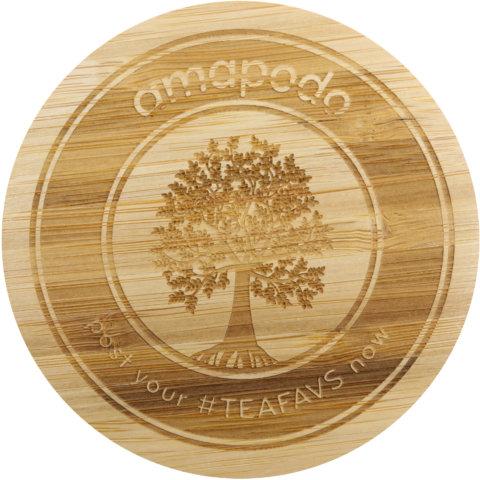 amapodo Ersatz Deckel Tea Tree für 1100ml Teekanne vorn