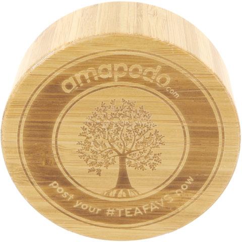 amapodo Ersatz Deckel Tea Tree für 400ml Teeflasche oben
