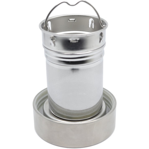 amapodo Ersatz Deckel für 500ml Trinkflasche, Untersetzer für Teesieb
