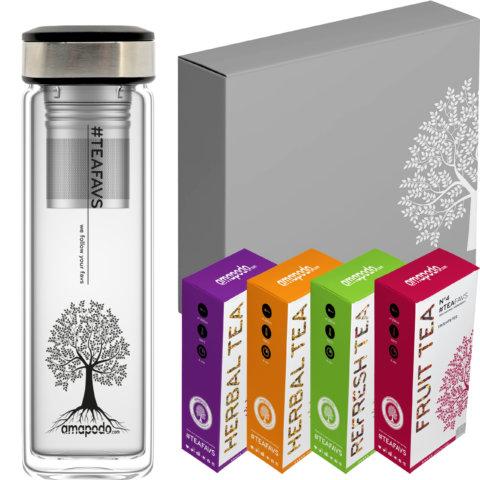 Tee-Geschenke-fuer-Frauen-Maenner_Geschenkbox-Geschenkset-Angebot_Glastrinkflasche-Schwarz