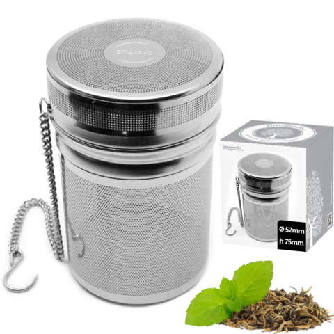 amapodo Teeei mit Kette in der Verpackung