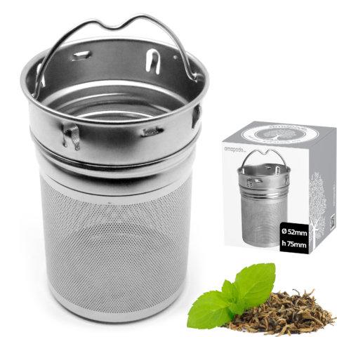 amapodo Teesieb für Tassen und Teeflaschen in der Verpackung