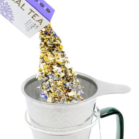 amapodo Teefilter befüllen mit losem Tee