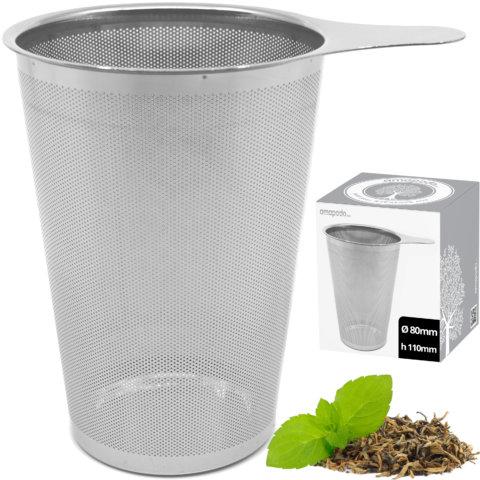 amapodo Teefilter für Teekannen Verpackung