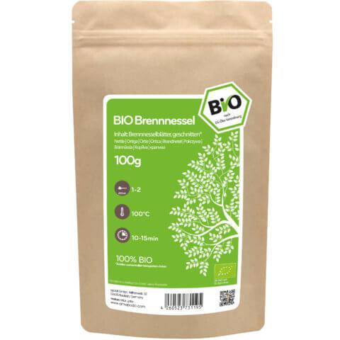 amapodo Bio Brennnessel Tee 100g Verpackung