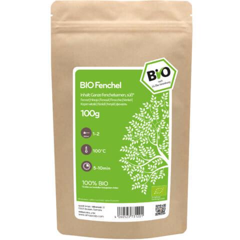 amapodo Bio Fenchel 100g Verpackung