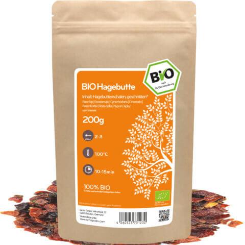 amapodo Bio Hagebutte Tee 200g lose Verpackung