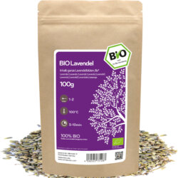 amapodo Bio Lavendel 100g lose Verpackung