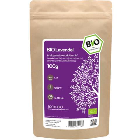 amapodo Bio Lavendel 100g Verpackung
