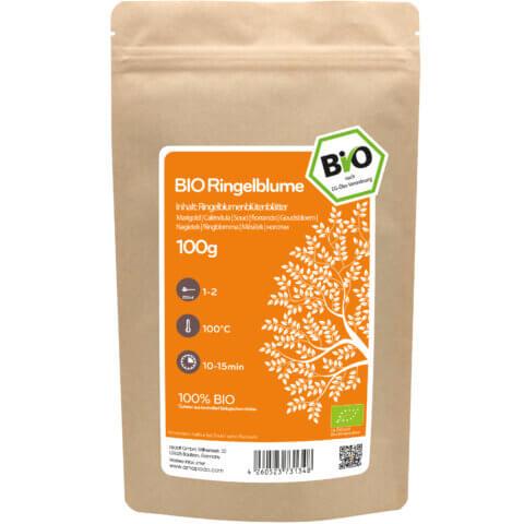amapodo Bio Ringelblume orange 100g Verpackung