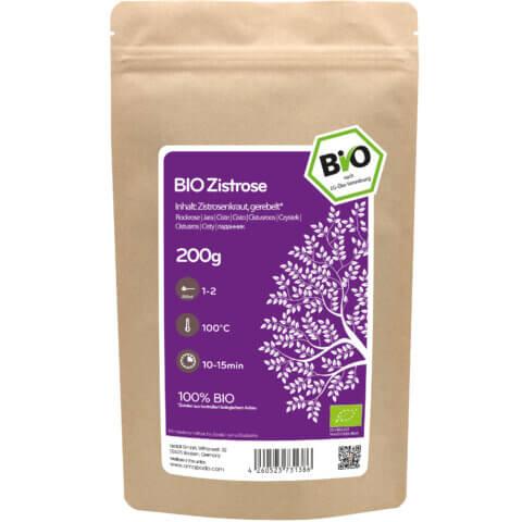 amapodo Bio Zistrose 200g Verpackung