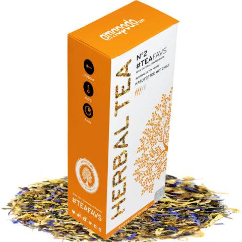 amapodo Kräutertee lose 80g Detox Tea Entgiftungskur Heilfasten
